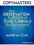 An Observation Survey of Early Literacy Achievement 3rd Edition Marie Clay