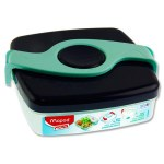 Picnik Origins 520ml Twist Lunch Box Blue/Green Maped