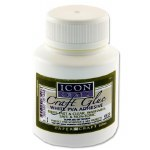 PVA Craft Glue 125ml Icon with Brush Applicator