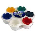 Paint Pots Palette Set 6 Well