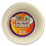 "Paper Plates 7"" x 100 Pack"