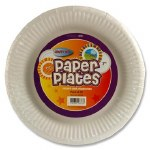 """Paper Plates 9"""" x 50 Pack"""