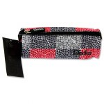 Premier Pencil Case Decks Pink Grey Squares