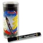 Marker Permanent Black Bullet Pentel