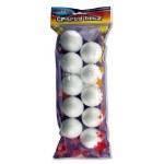 Styrofoam Balls 5 cm 10 Pack