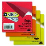 Post It Stickie Notes 75mm x 75mm 100 sheets