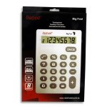 Redbell A4 Extra Large 8 Digit Calculator