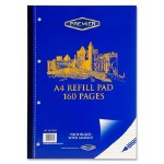 Refill Pad 160 Page Side Opening Premier