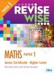 Revise Wise Maths Junior Cert Higher Level Paper 1