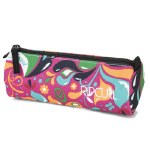 Rip Curl Pencil Case Single Zip Drops Pink