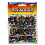 Crafty Bitz Sequins 30g Assorted
