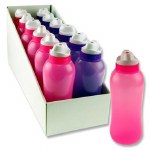 Smash Drinks Bottle 330ml in a choice of Pink or Purple