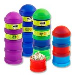 Smash Lunch Box Snack Tubes Quadrouple in a choice of 4 Colours