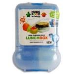 Smash Lunch Box Mini Rubbish Free Set Bright Blue