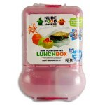 Smash Lunch Box Mini Rubbish Free Set Bright Pink