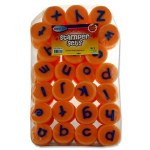 Foam Stamper Set 26 Piece Lower Case Letters