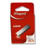 Staples Maped 26/6 2000 Pack