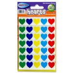 Coloured Hearts 150 pack