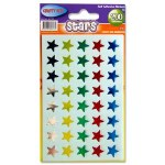 Coloured Stars Assorted 200 pack