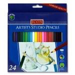 Colouring Pencils 24 Full Length Artists Studio Icon
