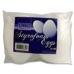 Styrofoam Eggs 150mm 2 Pack
