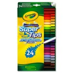 Markers Supertips 24 Pack Crayola