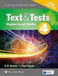 Text and Test 4 Leaving Cert Higher Level Maths New Edition CJ Fallon