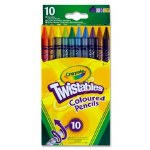 Colouring Pencils Crayola Twistables 10 Pack