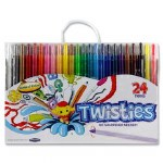 Crayons Twisties 24 pack World of Colour