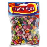 Beads 100g Pack Wooden