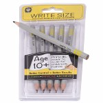 Write Size Pencils Yellow Age 10+