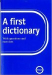 A First Dictionary Nisbet Ed Co