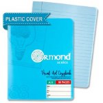 Ormond A11 Visual Memory Aid Plastic Cover Writing Copy Blue