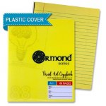 Ormond A11 Visual Memory Aid Plastic Cover Writing Copy Yellow