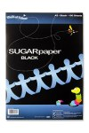 A3 Sugar Paper Black 100 sheets