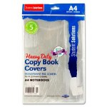 Heavy Duty A4 Copy Cover 5 Pack Student Solutions