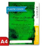 Manuscript Copy A4 with Plastic Cover Irish
