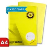 Manuscript Copy A4 Visual Aid 120pg Yellow