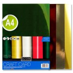 Icon A4 Mirror Card 8 Sheets 220gsm