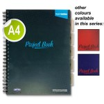 A4 5 Subject Project Book 250 Pages Student Solutions