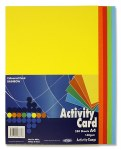 A4 Card Assorted Coloured Card 250 Sheets 160g