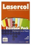 A4 Paper Assorted Colours 250 Sheets 80g