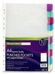 Punched Pockets and Divider set
