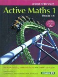 Active Maths 1 Book and Activity book First Year Project Maths Folens