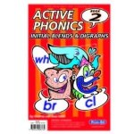 Active Phonics 2 Initial Blends and Digraphs 1st and 2nd Class Prim Ed