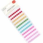 Adhesive Pearls Rainbow