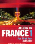 Allons En France 1 2nd Edition Junior Cert Gill and MacMillan