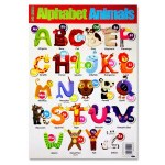 Clever Kidz Wall Chart Animal Alphabet