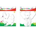 Paper Cut Outs Animals Moveable 4 Pack