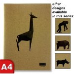 Icon Kraft Sketch Book Animalia Design 110gsm 80 Pages
